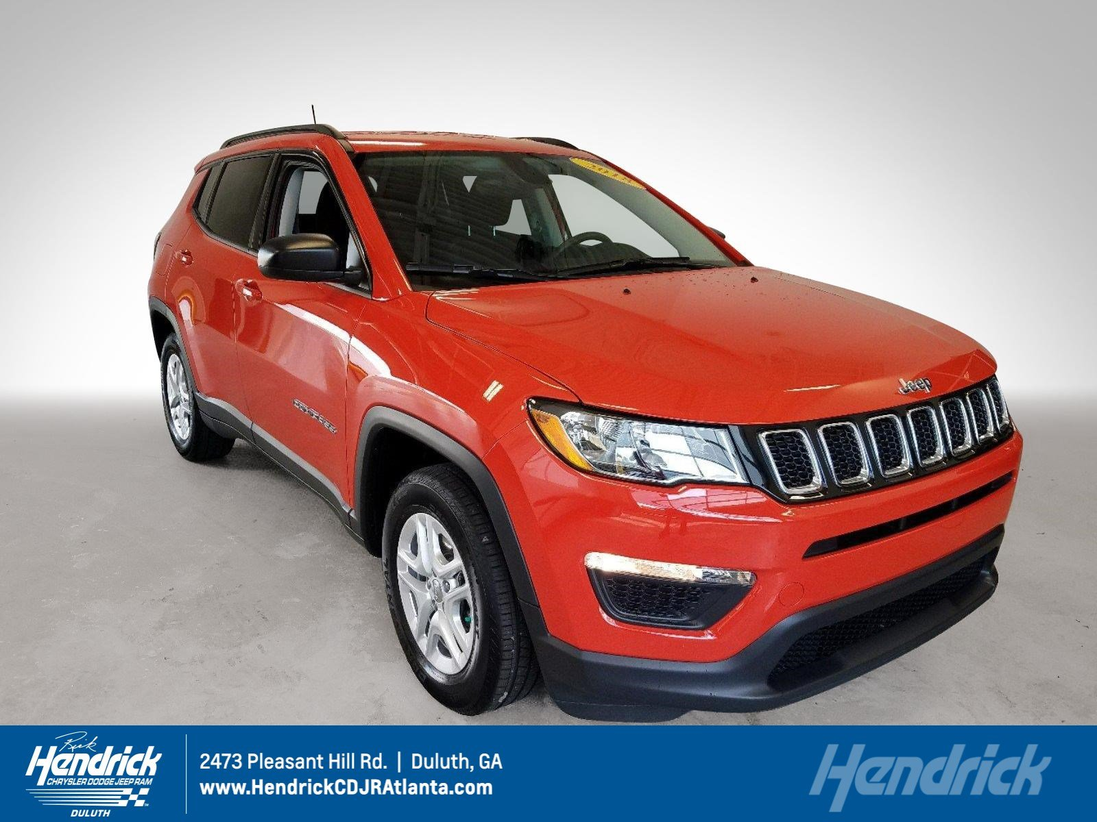 PRE-OWNED 2018 JEEP COMPASS SPORT FWD SUV